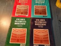 Anuarul Teatrului Romaniesc stagiunile 1995 / 2000 4 volume