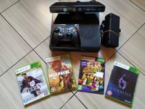 Xbox 360E, HDD de 250GB, accesorii originale, Kinect &jocuri