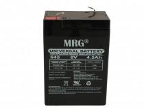 Acumulator plumb acid MRG, 6V-4.5Ah Reincarcabil, Verde C425