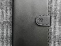 Husa Flip Wallet pentru Huawei P30 Lite - Piele neagra