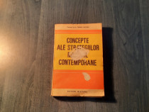 Concepte ale strategiilor militare contemporane T. Grozea