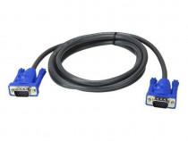 Cablu VGA tata - tata. Ideal pentru PC, laptop, monitor, etc
