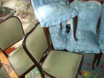 Set de 6 Scaune din Lemn sufragerie.