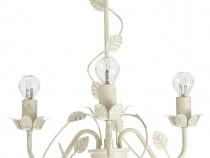 Corp de Iluminat Aplica Lustra Plafoniera crem, 3 x 28 W, G9