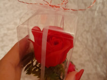 Aranjamente si martisoare din trandafiri de sapun