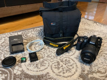 Aparat foto DSLR Nikon D3100, 14.2MP + Obiectiv 18-55mm VR