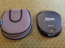 CD-player portabil Sony Discman D-151 + Husa de protectie