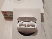 Casti wireless Huawei FreeBuds 3 ceramic white