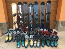Placi,placa Snowboard Hard. Lot 7 buc+clapari. Reducere maxi