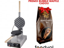 Aparat bubble waffle, premix bubble waffle cadou