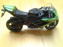 Motocicleta Kawasaki jucarie copii 20 cm