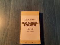 Prim ministrii Romaniei 1859 - 1918 Marin Nedelea
