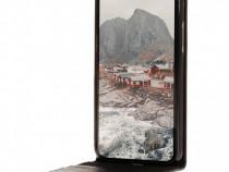 Husa Telefon Vertical Book Apple iPhone X iPhone XS Black