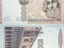 Lot 4 bancnote ITALIA 1982-1990