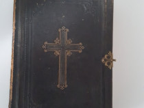 Carte veche carte de rugaciuni in limba maghiara 1865