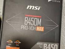 Placa de baza MSI B450M PRO-VDH MAX