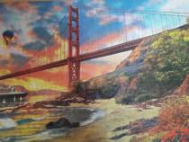 """Tablou puzzle """"Golden Gate"""""""