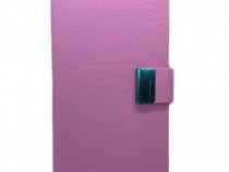 Husa telefon Flip Book Apple iPhone 4 pink PRODUS NOU