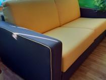 Canapea extensibila cu saltea 140/195 cm Madeira
