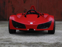 Masinuta-KART electric pentru copii RAZER GT 1000W 48V #RED