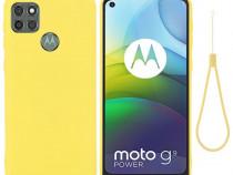 Husa Silicon lichid pentru Motorola Moto G9 Power U01804289