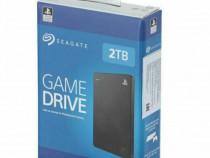 Hard-Disk extern Seagate Game Drive 2TB 2,5 inch pentru PS4