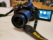 Aparat foto DSLR Nikon D5300 24,2MP Negru + Obiectiv AF-P 18