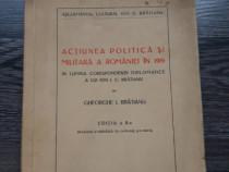 Carte veche g bratianu actiunea militara a romaniei in 1919