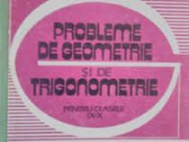 Soare/Niculescu - Probeleme de geometrie si de trigonometrie