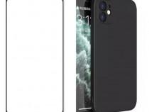 Husa Protectie Camera + Folie Sticla Iphone 12 MINI PRO MAX