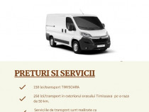 Transport mobilier - marfa Timisoara