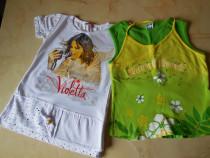 Bluze de vara pentru fete de 6 - 7 ani