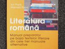 Literatura romana. manual preparator clasa a viii-a - popa