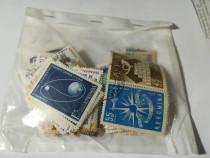 Plic cu cca 124 timbre stampilate 1959-1960