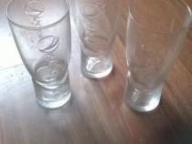 3 pahare de sticlă Pepsi