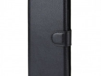 Husa Flip tip Carte LG Optimus K20 + Cablu de date Cadou