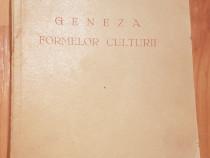 Geneza formelor culturii de P.P. Negulescu, 1934