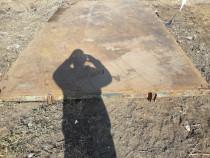 Podea remorcă basculabila cu 2 cilindri