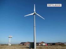 Turbina eoliana. Proiecte energie verde. Eoliene industriale