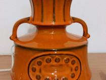 Lampă veioză ceramică vintage