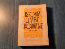 Istoria limbii romane vol. 4 , 5 si 6 Alexandru Rosetti