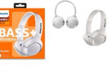 Casti On-Ear Philips SHB3075WT/00, Bluetooth, NOU, Garantie