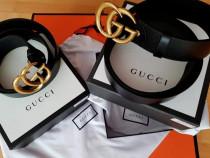 Curele unisex Gucci piele naturală 100%cutie,saculet incluse