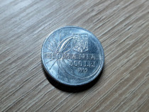 Moneda 500 lei, eclipsa totala soare Romania, 11 august 1999