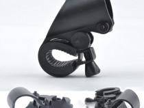 Suport Lanterna Ghidon Bicicleta cu Reglaj