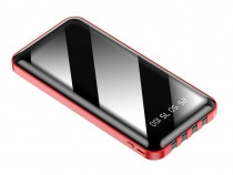 Baterie Externa Power Bank MRG, 12.000 mAh, 3 in 1, LCD C490