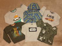 Lot 6 bluze, marimea 122-128, rolling, Disney, Star Wars