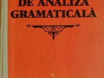 G.G. Neamtu - Elemente de analiza gramaticala, 1989