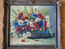 Tablou cu flori de camp