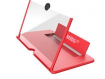 Lupa Telefon MRG M-506, 10 inch, Pliabil, Rosu C508
